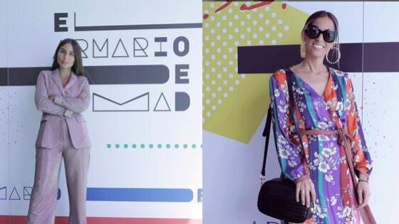Influencers con looks creados en el MoMad Septiembre 2019