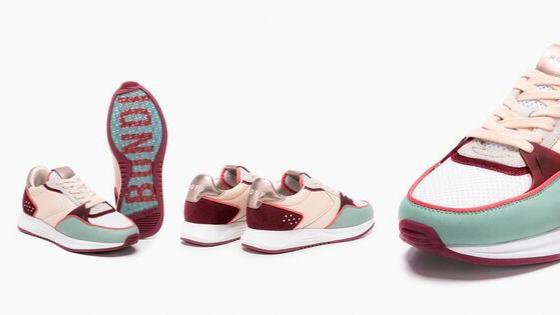 Modelo de zapatillas para esta temporada de la firma Hoff