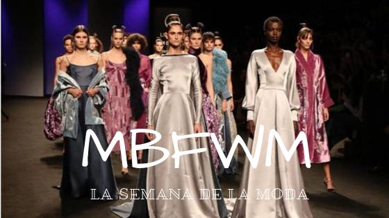 Desfiles de la semana de la moda de Madrid