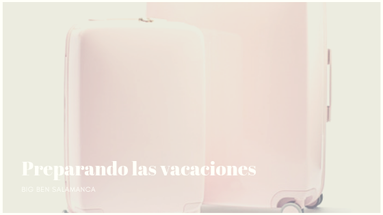 Prepara la maleta para este verano